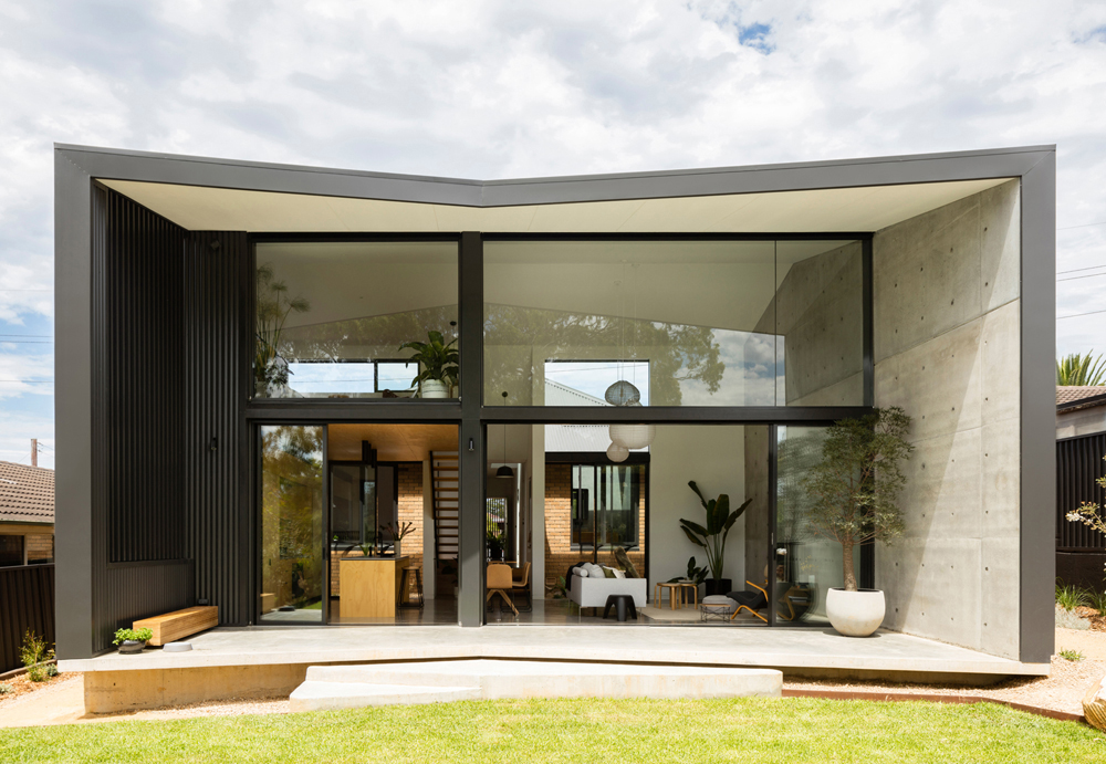 Binary House has received great coverage in features published by Contemporist and ArchitectureAU