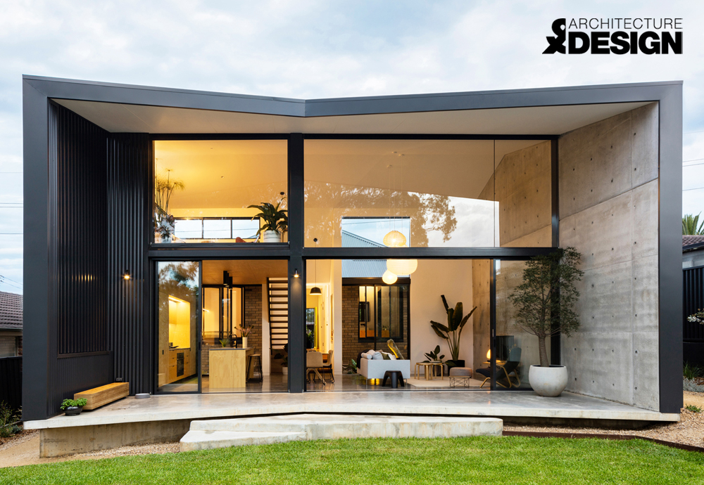 Binary House has been featured by Architecture & Design