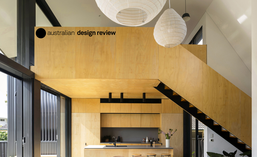 Australian Design Review chat with Christopher Polly about Binary House