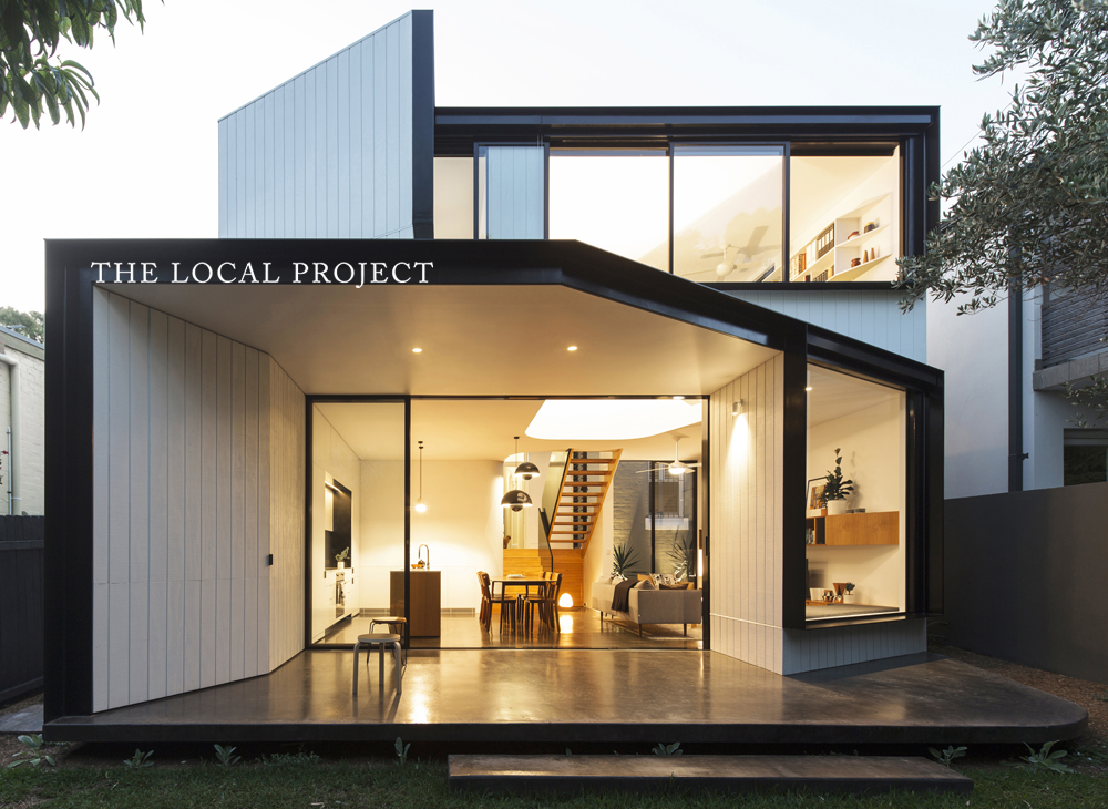 The Local Project has featured Unfurled House