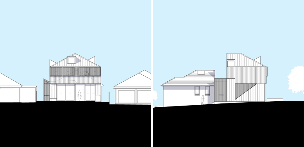 Sketch designs prepared for a new residential project in Matraville