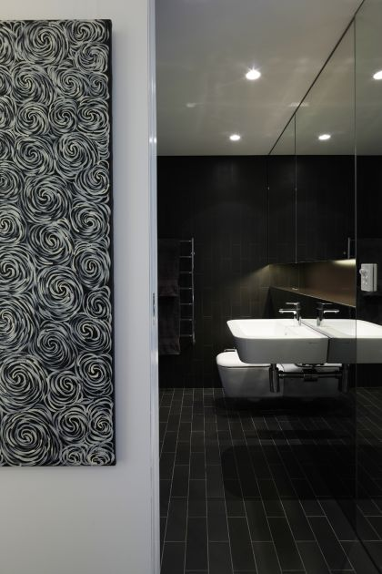 Darling Point Penthouse bathroom detail