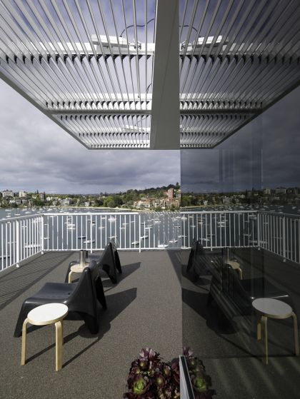 Darling Point Penthouse terrace & pergola