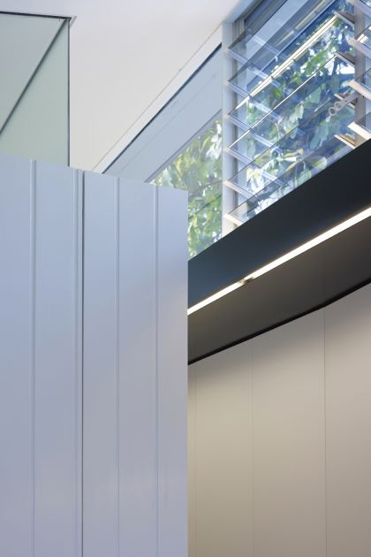 Haines House joinery & highlight glazing detail