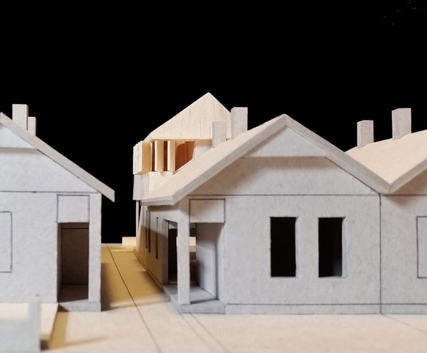 Haoui House model streetl view
