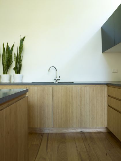 Hird Behan House kitchen joinery detail