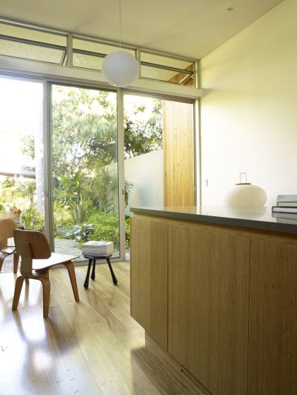 Hird Behan House kitchen & informal dining area detail