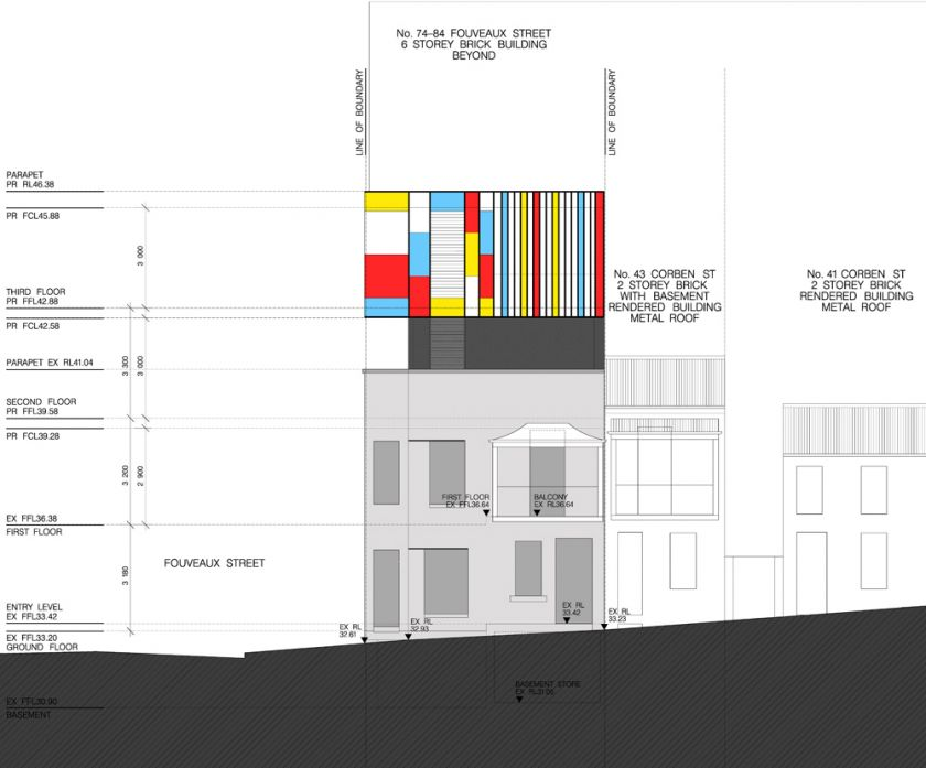 Surry Hills Offices & Showroom elevation