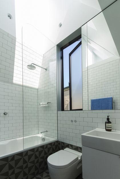 Unfurled House interior view of bathroom