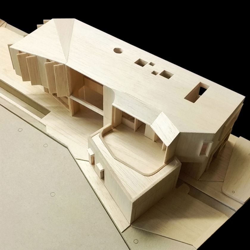 Flexion House model overall view